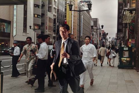 tokyo from the series streetwork by philip lorca dicorcia