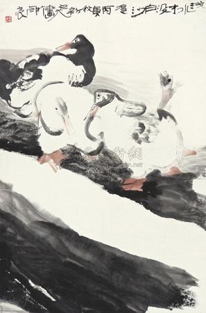 山水 by xiao junxian
