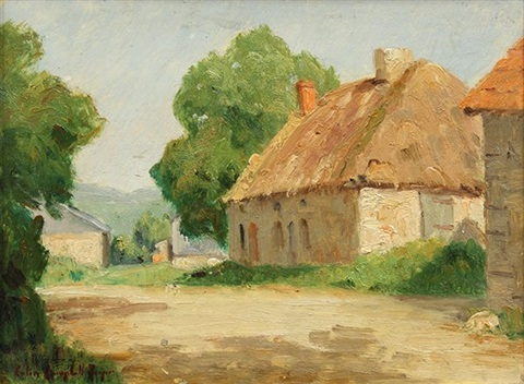 normandy cottage by colin campbell cooper