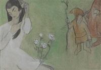 mädchen und zwei heinzelmännchen by judith müller