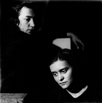 double portrait of jarmila rambousková and gertruda fischerová by jaroslav rössler