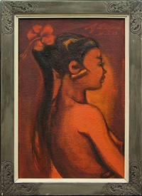balinese girl by agus djaya