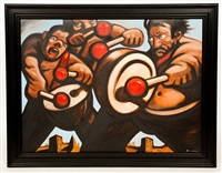 the drummer boys by peter howson