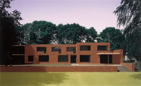 Hlk 01 Ludwig Mies Van Der Rohe Haus Hermann Lange Krefeld 1927