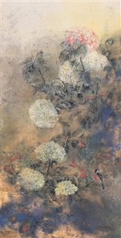 花鸟 (birds and flowers) by liu hui
