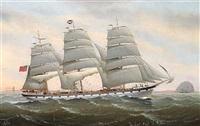 skibsportræt af ayrshire fort af cap. j. miller by charles keith miller