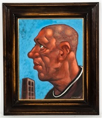 self portrait by peter howson