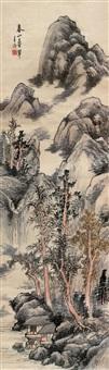 landscape by jiang lianseng