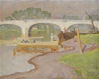 kew bridge by elis aslund