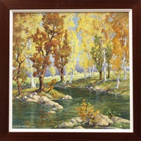 autumn aspens by harold morse ward