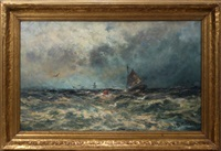 the goodwin sands mouth of the thames by robert hopkin