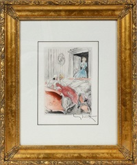 what a surprise from la nuit et le moment suite by louis icart