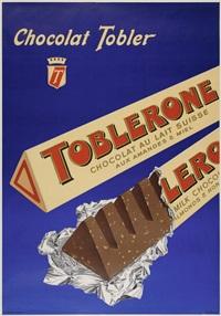 chocolat tobler, toblerone by hans lehni