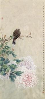 花香绝纤尘 (flowers and birds) by liu dewei