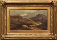 cader idris, north wales by lionel percy smythe