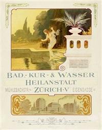 bad, kur- & wasserheilanstalt zürich by uehlinger & asmussen
