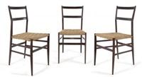 tre sedie superleggera by gio ponti