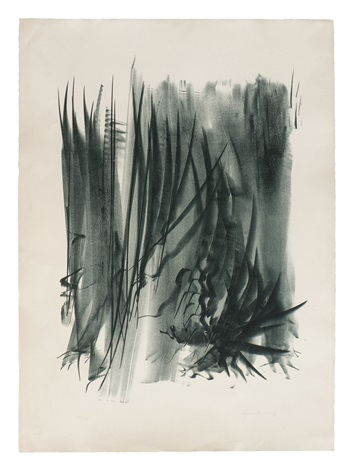 linienkomposition by hans hartung