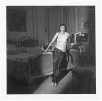 wallace montana, vanity fair, hotel ritz 1994 by michel comte