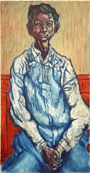 boy in blue by max hartstein