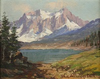 view of the sierras by jack wilkinson smith