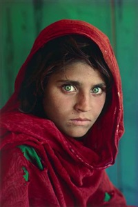 afghan girl, peshawar, pakistan by steve mccurry