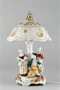 tischlampe by von schierholz porzellanmanufaktur