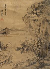 landscape by shen shichong
