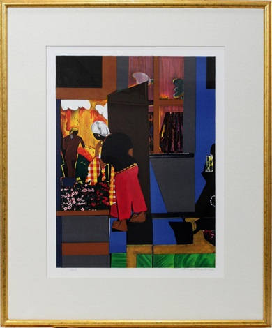 the open door by romare bearden