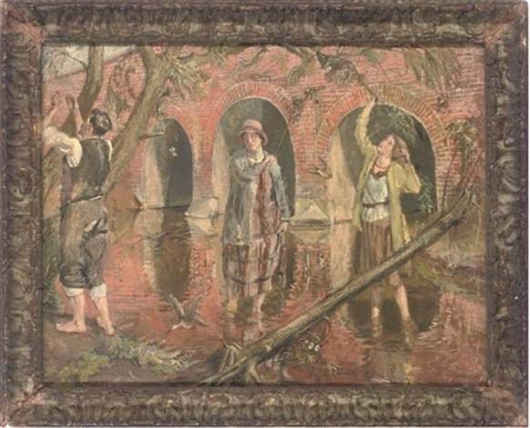 The plague of flies by Rodney Joseph Burn on artnet