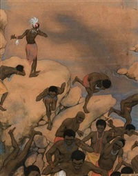 africans by anton pieck