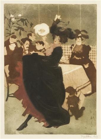 danseuse espagnole by jacques villon