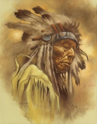 the old cheyenne by vilem zach