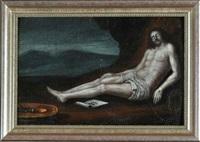 vom kreuz abgenommener leichnam christi by maerten jacobsz van heemskerck