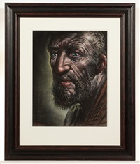 study for saint andrew (ii) by peter howson