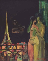 les amoureux de paris (the lovers of paris) by mochtar apin