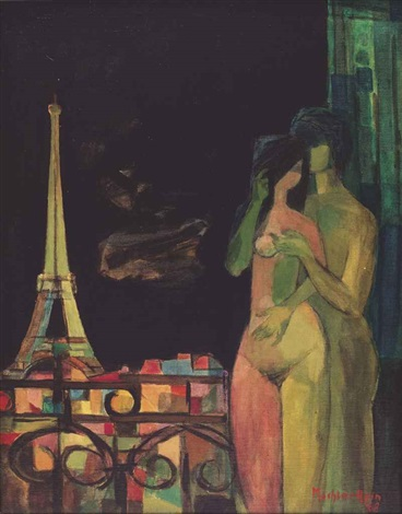 les amoureux de paris the lovers of paris by mochtar apin