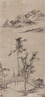 landscape by jiang zhu