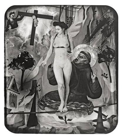 histoire de la civilisation (blanche): vénus préférée au christ, paris by joel-peter witkin