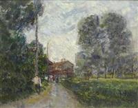paesaggio lombardo by umberto vittorini