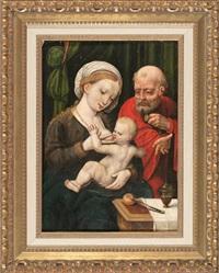 la sagrada familia by joos van cleve