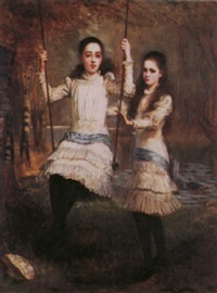 two edwardian sisters by stephen catterson smith the younger
