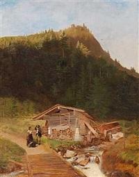 parti fra brauenburg ved inntal i tysk tyrol by heinrich buntzen