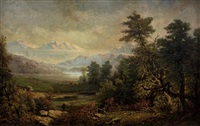 view of the white mountains by paul ritter