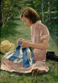 flicka i gröngräset by greta gerell