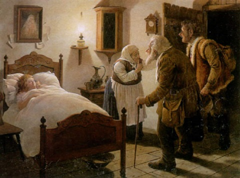 the sickbed by victor goulard