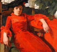den röda klänningen by gösta von hennigs