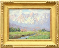 mt. humphries, bishop, ca by frederick carl smith
