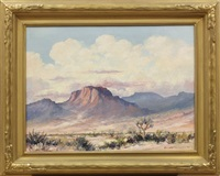 joshua tree landscape by edward m. langley