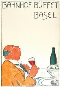 bahnhof büffet basel by cuno amiet